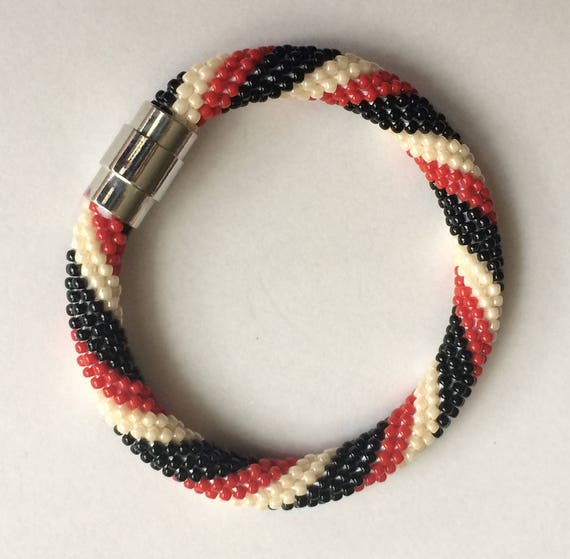 Häkeln-Koralle Armband
