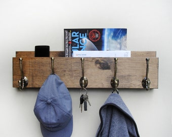 Wood Coat Hanger, Wooden Coat Rack