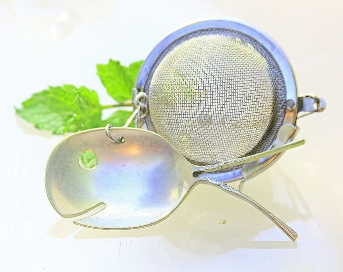 Sterling Silver Tea Steepers Infuser Strainer Filter Brewer Mesh Balls Beach Weddings Favors Party Custom Engraved Spoons Herbs Bags Filters