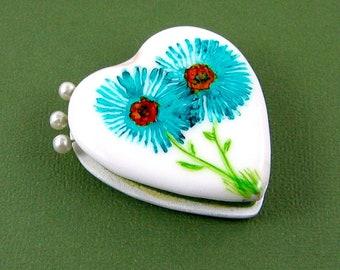Hand Painted Pin Cushion Needle Minder