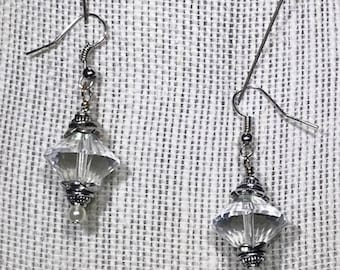 Bohemian Cone Crystal Earrings