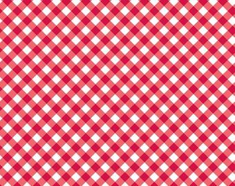 Patriotic Picnic Gingham Red