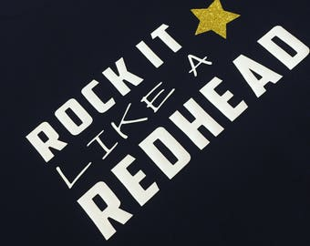 Rock it like a red head jumper x