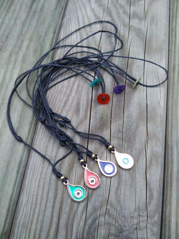 CHOKER necklace EVIL EYE