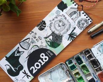 Calendar * Wall Calendar 2018