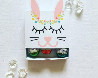 Sleepy bunny matchboxes