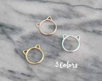 Cute Cat Ear Rings