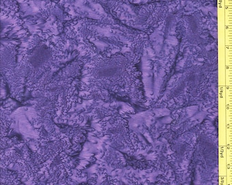 Batik Fabric - Sun Drenched Bali - 07088-66 - Purple Passion