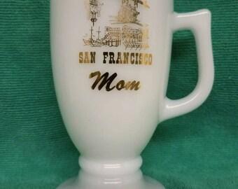 Vintage San Francisco Mom Pedestal Mug