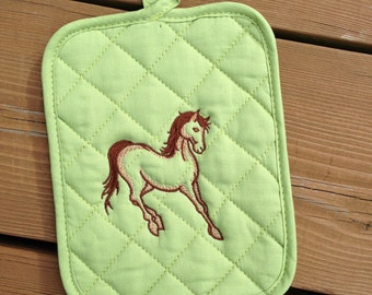 Horse Pot Holder, Pot Holder for sale