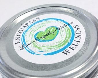 Custom Label Design - Round Labels Labels - Jar Wraps - Custom Designs - NO TEMPLATES!