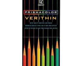 Prismacolor Verithin Pencils 12