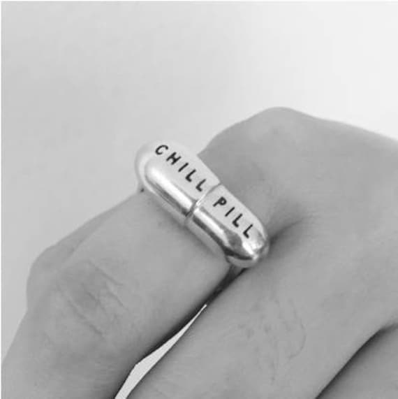 Made to Order Chill Pill Ring - Silver, 14k Rose GPB, 18k Gold PB