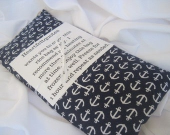 anchor heat pads - anchor rice bag - nautical items - nautical gifts - anchors - cold packs