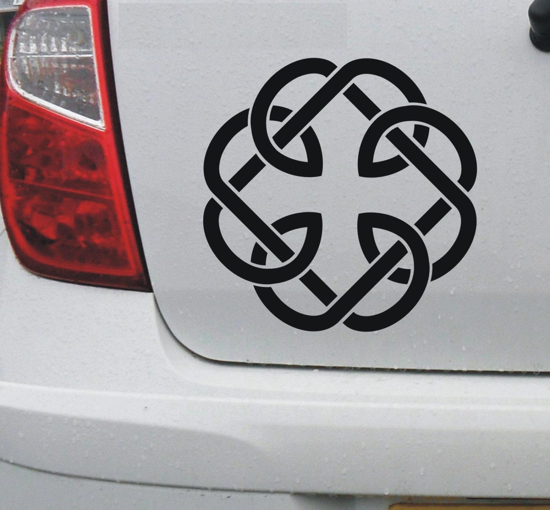 Celtic fatherhood knot 1 vinyl car bike window zoom biocorpaavc Images