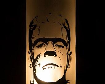 Frankenstein Candle Holder, Classic Monster Candle Holder
