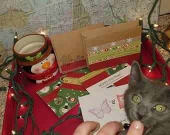 Christmas card(s) Pick 3,6,9,or 12 Bundle