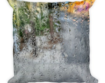 Morning Dew Square Pillow