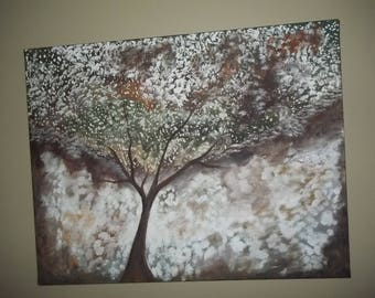 Beautiful Abstract tree painting