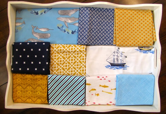 Boy's Ocean Quilt Made to Order