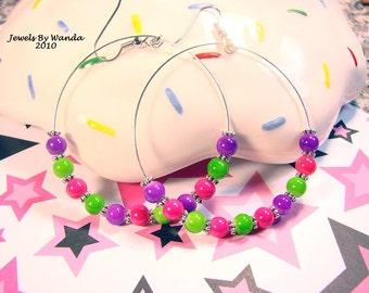 Skittles Earrings