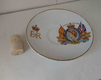 Commemorative H M Queen Elizabeth II Coronation Plate, 1953