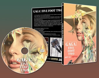GAGA DVD ARTWORK - Five Foot Two Documentary