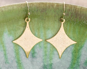 STARGAZER Earrings - silver or gold