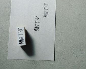 Yohaku Original Stamp S-04 - Harmony