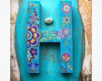 BoHo Colorful Letters