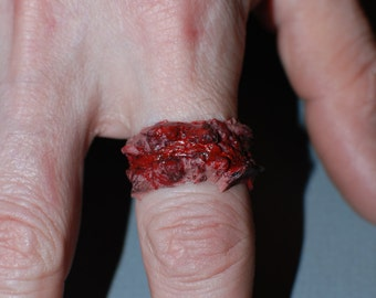 Horror Jewelry - Chopped Flesh Ring - Extra Chunky 3pc set