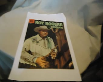 Vintage 1956 Roy Rogers & Trigger No 98 Comic Book, collectable