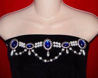 Renaissance Bodice Jewels, Medieval Bodice Jewels, Medieval Jewelry, Renaissance Jewelry, Bodice Adornment, U PICK Colors, Tudor Jewels
