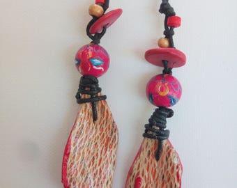 Ficodindia Fiber Earrings