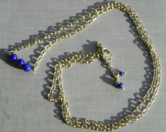 LAPIS AND GOLD.