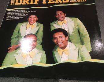 The Drifters Greatest Vinyl Lp MFP4157341 1985 vgc