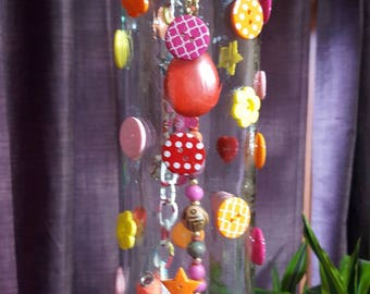 Bottle Wind Chime Fun Buttons