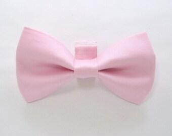 Pink  Dog Bow Tie / Pink Dog Bow Tie/Wedding Dog Bow