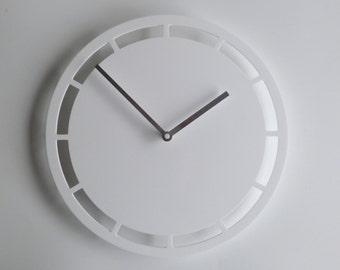 Objectify Dash Outline Wall Clock - Medium Size