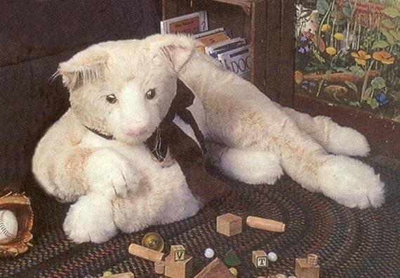 RIESIGE Kitty Katze Nähen Muster Kitty Teddybär Muster Plüsch