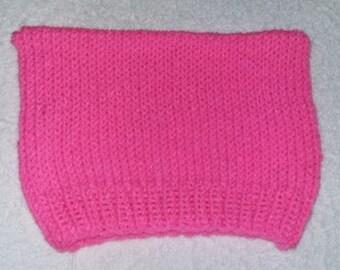 Bright Pink Cat Hat, Activist Hat, Protest Hat, Adult size