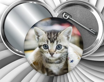 Photo button, your favorite picture available as pinback, magnet, bottle opener, Keychain or mirror