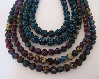 5 strands necklace