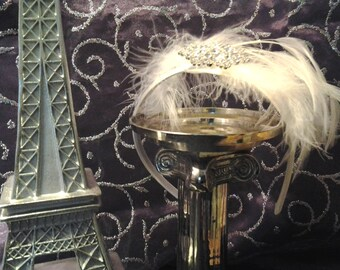 Gatsby Couture Style Fascinator