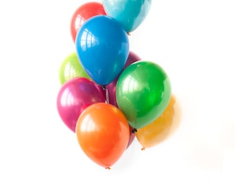 """PRISM - 11"""" Rainbow Balloon Bouquet (10 balloons per package)"""