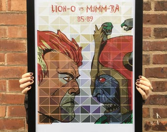 Thundercats A2 Poster Print