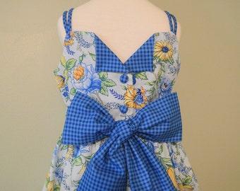 Huge Sale ... Girls Dress Pattern ... Lily Rose Hi-Lo Tank Dress PDF sewing pattern
