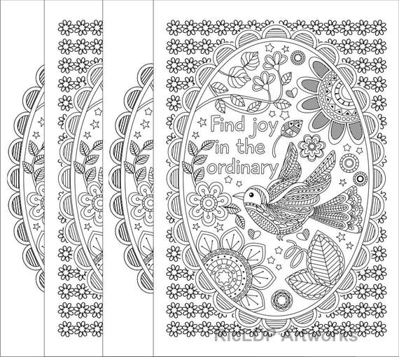 Printable Find Joy In The Ordinary Coloring Pages