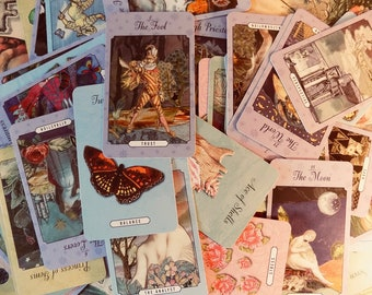 TRUE LOVE Tarot Amy Zerner Monty Farmer Deck Book Set Fortune metaphysical new age reading Tarot cards libido beast yes no fortune telling
