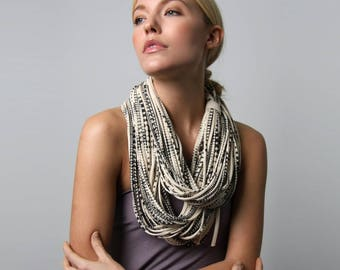 Infinity Scarf, Mother in Law Gift, Festival, Gift for Women, Statement Necklace, Gift for Daughter, Gift for Mother, Womens Gift, Women